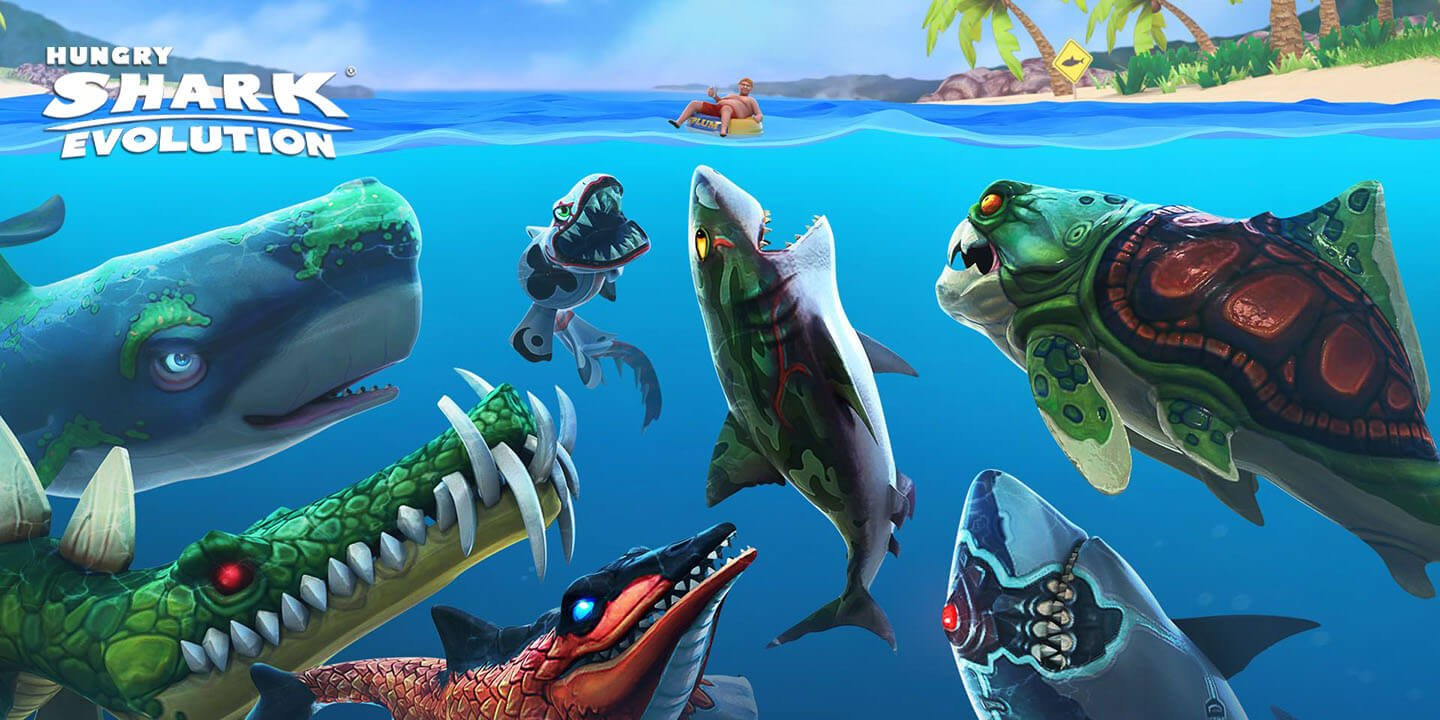 Hungry Shark Evolution Mod Apk